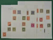 INDIA FEDERATED STATES STAMPS SELECTION OF COCHIN ON 4 ALBUM PAGES (J1)