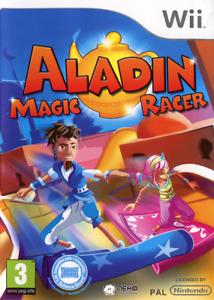 ALADIN MAGIC RACER NINTENDO WII NUOVO SIGILLATO ITALIANO ALADDIN MULTIGIOCHI CD
