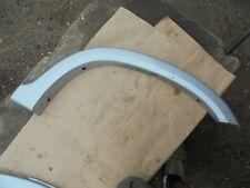honda crv n/s rear wheel arch trim in satin silver