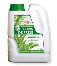 Purin de prêle 1L, protection, croissance, fertilisant Bacteriosol