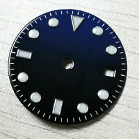 28.5mm blue black watch dial fit for ETA 2824 2836 Miyota 8215 movement D161