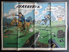 Poster Supplement Tuniques bleues Du Journal Spirou N° 1906 de 1974