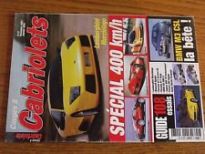$$$ Revue Coupes & Cabriolets N°27 Lambo MurcielagoEdonisBugatti Veyron