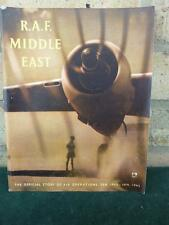 a very nice  WWII HMSO RAF Middle East 1945 VGC