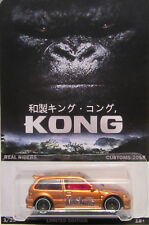 Hot Wheels a medida HONDA CIVIC KING KONG Real Riders Limitado 1/25 Made