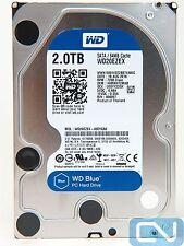 *100 Hours* WD Blue WD20EZEX 2TB 64MB Cache 7200 RPM SATA 6.0Gb/s PC Hard Drive