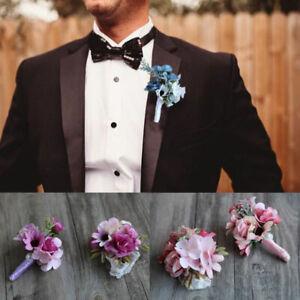 Groom, Groomsman, Bridesmaid, Corsage, Wrist Flowers, Bright Flower Wedding Part