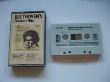 Beethoven Greatest Hits - Rare RCA 1984 German Cassette Tape. Excellent Plus