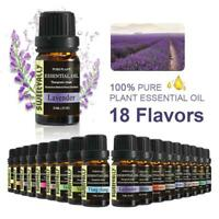 Essential Oil ( PURE & NATURAL - UNDILUTED) - 10ml Aromatherapy Organic Grade