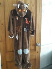 Gruffalo Fleece Fancy Dress Costume, Age 5 - 6 years, Height 110 - 116 cm