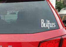 Black The Beatles High Quality Removable Premium Vinyl Decal Car Sticker