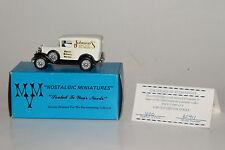 MVM NOSTALGIC MINIATURES 1931 FORD MODEL A DELIVERY, JOHNSON'S ICE CREAM