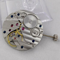 17 Jewels 6497 mechanical hand winding mens classic vintage watch movement M02