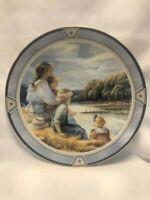 """Trisha Romance - Limited Edition Collector's Plate  - """"The Regatta"""" - 8"""""""