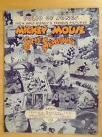 Vintage Mickey Mouse Silly Symphony Songbook 1933-4 Walt Disney Folio Of Songs