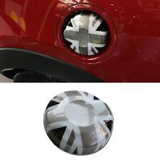 Black Union Jack ABS Fuel Cap Gas Cover Housing For MINI Cooper F55S/F56S/F57S