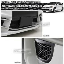 "Black Honeycomb Hexagon Mesh ABS Grille Custom DIY Kit 42""x15"" for HYUNDAI"