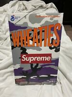 New & Sealed Wheaties Supreme Limited Edition Cereal Box 📈