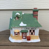 VTG Holiday Expressions Dickens Collectibles Porcelain Post Office AS-IS F/S
