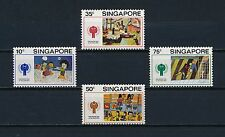 Singapore  329-32 MNH, Cildren's Drawings, 1979