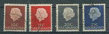 Niederlande Briefmarken 1953 Königin Juliane Mi.Nr.620-23 normales Papier