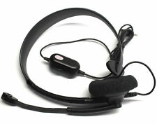Microsoft Xbox 360 Gaming Headset with Microphone Volume Control Headphone Mic