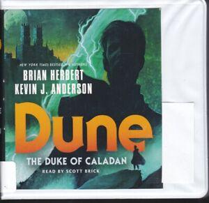 DUNE: THE DUKE OF CALADAN by BRIAN HERBERT ~ UNABRIDGED CD's AUDIOBOOK