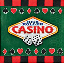 CASINO PARTY ~ Beverage Napkins - pack of 16 - Free postage