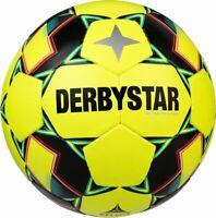 Derbystar Fußball Brillant TT Futsal gelb grün orange Gr 4