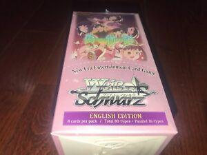 Weiss Schwarz Nisemonogatari Booster Box English Edition 20 packs