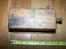 Vintage Detroit Coil Company Hit Miss Engine Buzz Coil Untested
