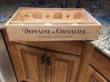 "CH. DOMAINE DE CHEVALIER 2014 GRAVES REGION FRENCH WINE CRATE 20 1/4"" X13"" X 4"""
