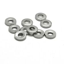 10 Surgical Stainless Steel Silver 8mm Flat Round Rondelle Heishi Disc Beads