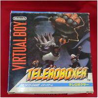 Nintendo Virtual Boy Telero Boxer from Japan[VB][1995][Sports game][Nintendo]