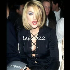 Gucci by Tom Ford Madonna's 1996 Satin Jersey Tunic + Belt - Mini Dress  46 (12)