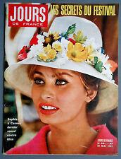 ►JDF 340/1961 - COVER SOPHIA LOREN - DAWN ADDAMS - MARIE JOSE NAT - DORLEAC