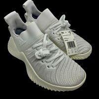 Adidas Alphabounce Trainer D96450 Training Shoes White/White Women's Size 7.5