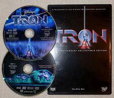 Disney's TRON OOP 2 disc DVD R1 20TH Anniversary Special Edition JEFF BRIDGES