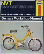 Haynes Manual 0457 - NVT Easy Rider Mopeds ER1, ER2 50cc (76 - 80)