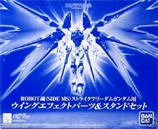 New Bandai Robot Spirits Strike Freedom Gundam Wing effect part Stand set Painte