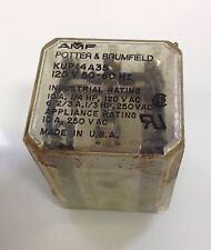 POTTER & BRUMFIELD 120V RELAY LOT OF 5 KUP14A35