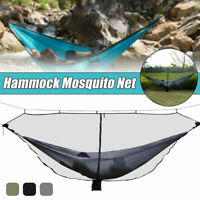 Outdoor Camping Hammock Anti-Mosquito Net Mesh Portable Hanging Sleeping Bed