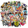 50Pcs Anime One Piece Stickers Pack Vinyl Laptop Helmet Water bottle Decals Bomb