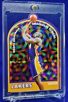 SHAQUILLE O'NEAL HOOPS ORIGINALS DIE CUT RAINBOW REFRACTOR LAKERS SP RARE