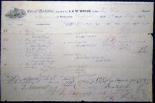 1862 CIVIL WAR DOCUMENTS BRIG KIOKA CIENFUEGOS CUBA SUGAR & MOLASSES CARGO