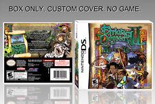 NINTENDO DS : ETRIAN ODYSSEY 2. UNOFFICIAL COVER. ORIGINAL BOX. NO GAME. ENGLISH