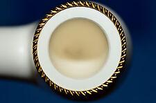 bent APPLE Gold Gilded rare MEERSCHAUM pipe by STRAMBACH Austria (bauer) NEW 9mm