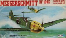 MPC 1:24 Messerschmitt Bf-109 E Bf-109E Plastic Aircraft Model Kit #2-3501U