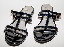 Tamaris trend ☺ Sandalen ☺ Gr. 40☺ *TOP* ☺ 2 x Schnalle und Dorn ☺ Lack schwarz