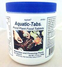 AgSafe Aquatic Tabs Plant Food - for Flowering Plants, 100 Tabs Jar by AgriTab